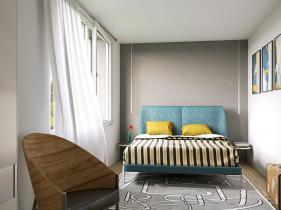 Moghegno3 Camera da letto